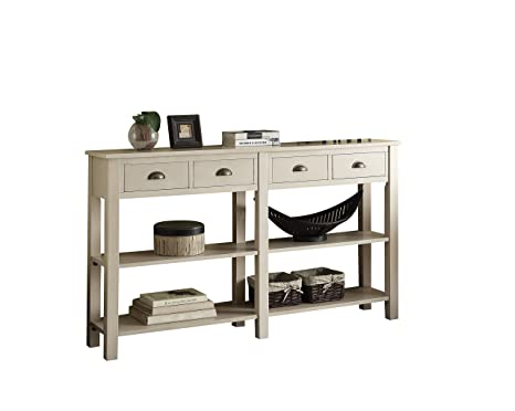 Wondrous Acme Furniture 97250 Galileo 72 Console Table Cream Lamtechconsult Wood Chair Design Ideas Lamtechconsultcom