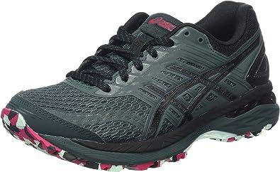 Asics Gt-2000 5 Trail Plasmaguard, Zapatillas de Running para Asfalto para Mujer, Verde (Hampton Green/Black/Cosmo Pink), 37.5 EU: Amazon.es: Zapatos y complementos