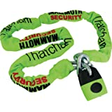 MOTORCYCLE MAMMOTH THATCHAM SQUARE CHAIN 12MM X 1.8M WITH SHACKLE LOCK