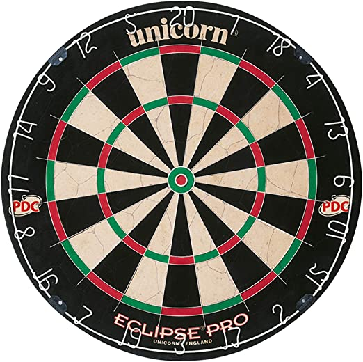 Unicorn Eclipse Pro Bristle Dartboard - Premium Quality
