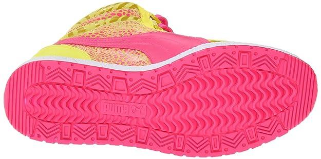 Amazon.com   PUMA Womens Sky Wedge Reptile Fashion Sneaker, Fluorescent Yellow, 10.5 B US   Fashion Sneakers