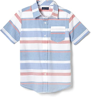 French Toast Boys Short Sleeve Woven Shirt Button Down Shirt