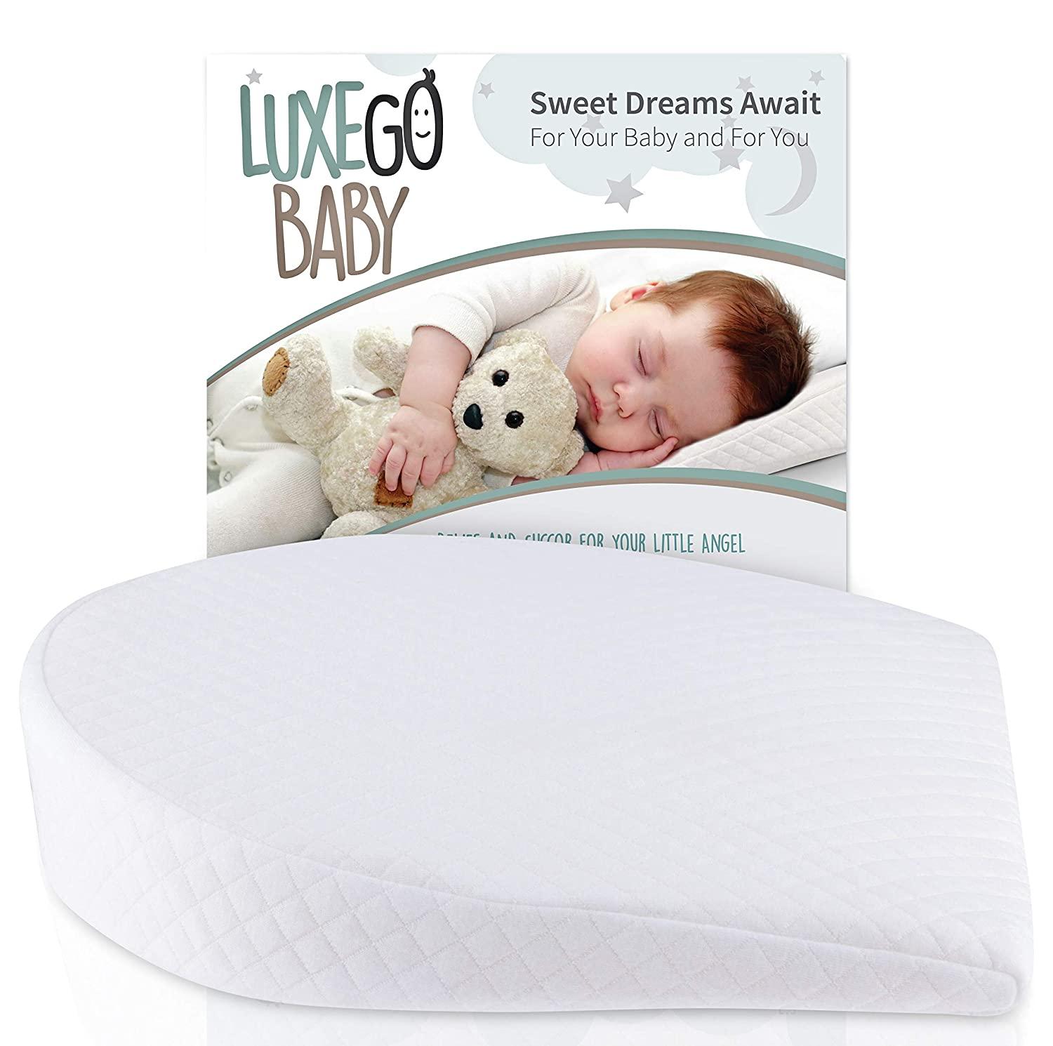 Amazon.com: Universal Bassinet Wedge for Reflux Baby Pillow ...
