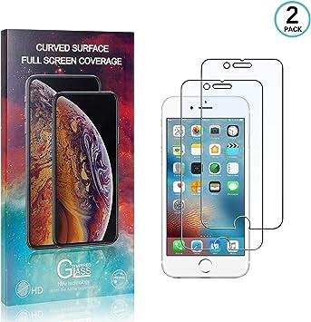 /Écran Protecteur Vitre pour iPhone Se 2020 // iPhone 8 // iPhone 7 Anti-Rayures Verre Tremp/é pour iPhone Se 2020 // iPhone 8 // iPhone 7 LAFCH 2 Pi/èces Film Protection d/écran