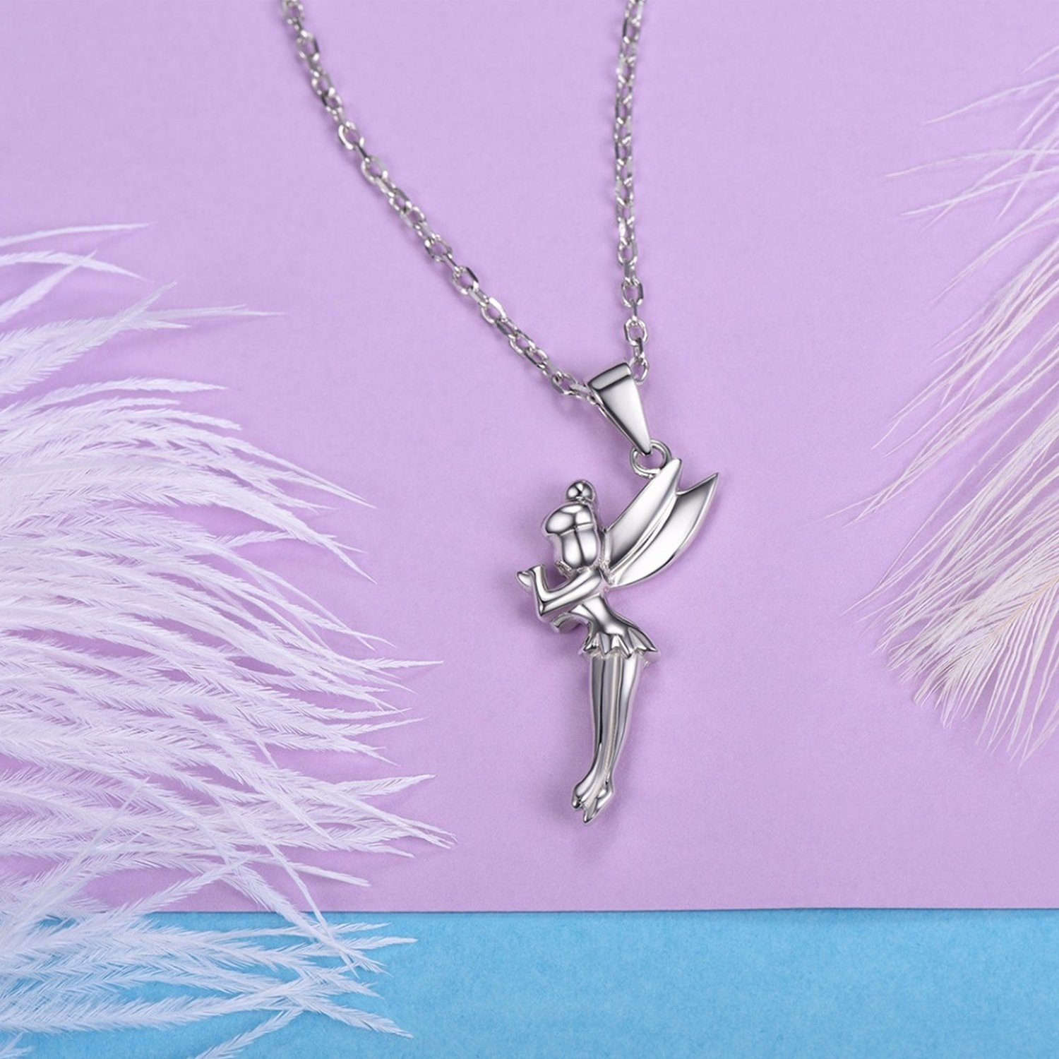 MMC Womens Necklaces 3D Little Angel Bridel Pendants