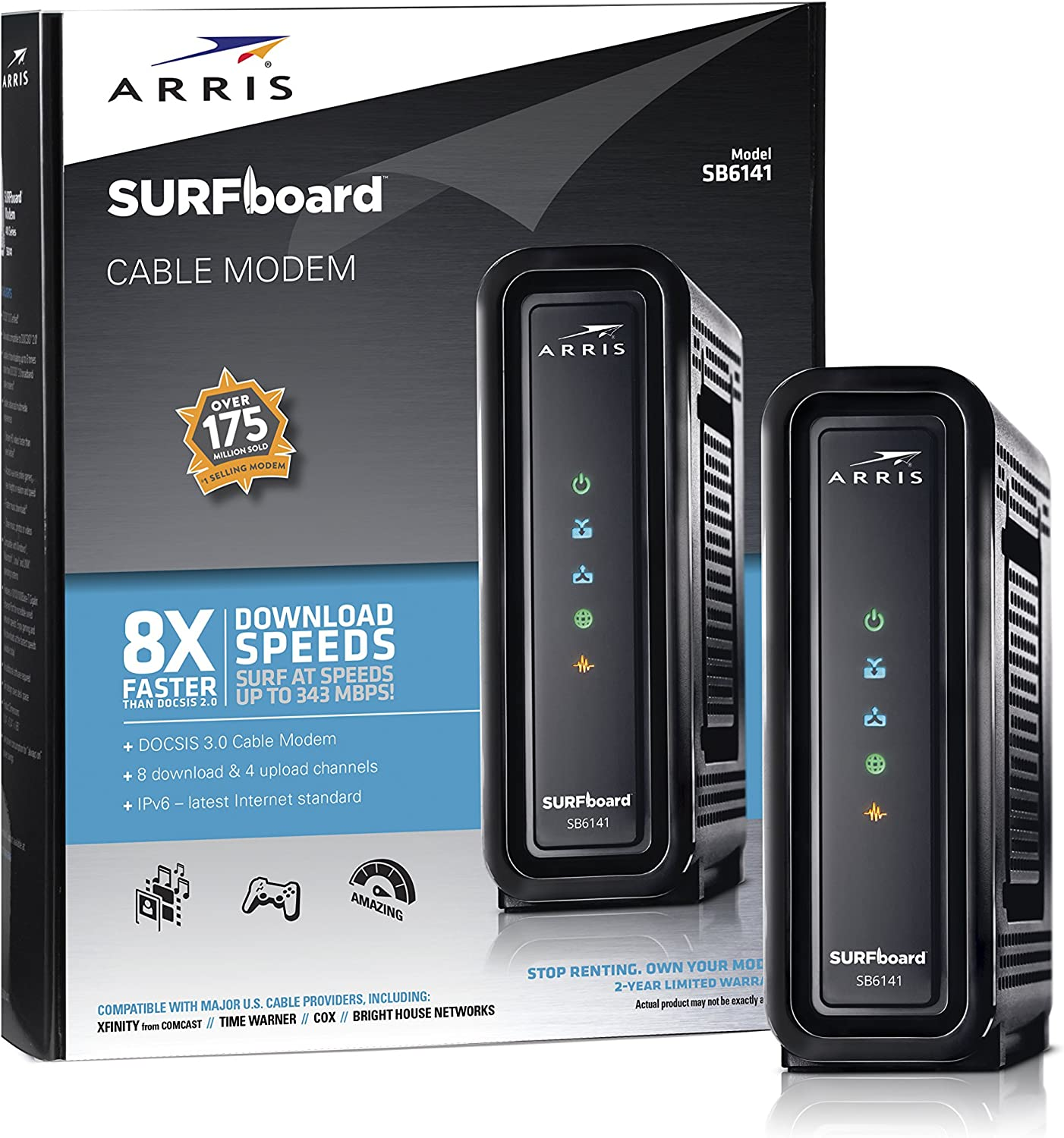 2. Arris Surfboard SB6141