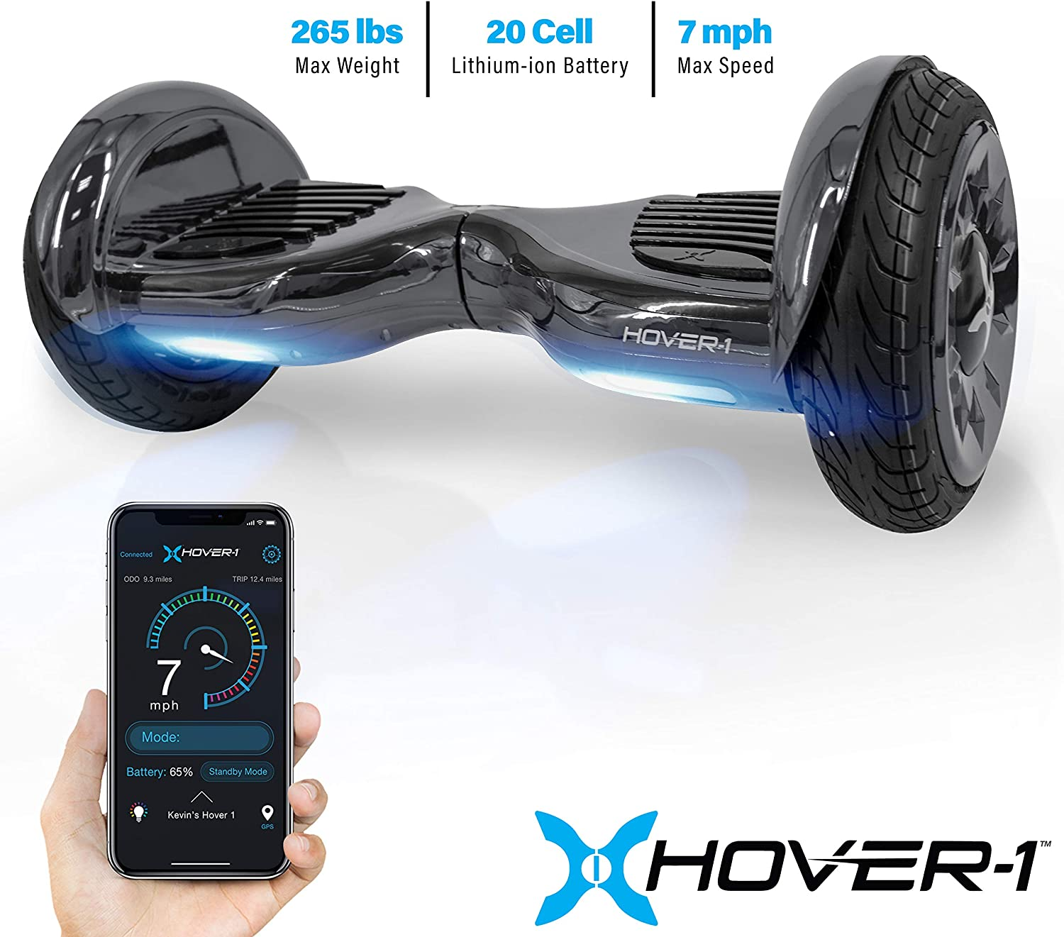 "Hover-1 Titan Electric Self-Balancing Hoverboard Scooter with 10"" Tires / US"