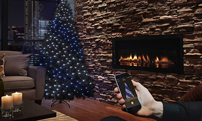 best sneakers c3c28 03db3 Twinkly 175 LED String Lights | Customizable WiFi-Enabled LED Lights