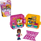 LEGO Friends Andrea's Shopping Play Cube 41405 Building Kit, Includes a Mini-Doll and Toy Pet, Promotes Creative Play, New 2020 (40 Pieces)