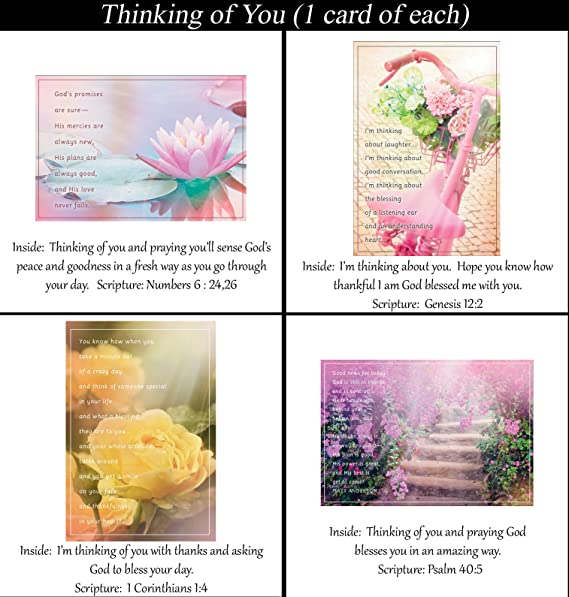 Amazoncom Thinking Of You Cards No Repeated Cards 32 Design