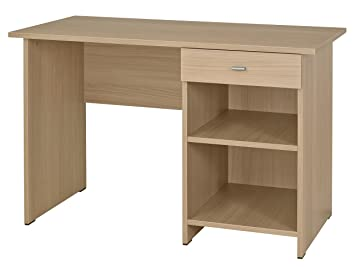 Dpc kumyos bureau bois hêtre naturel  cm amazon