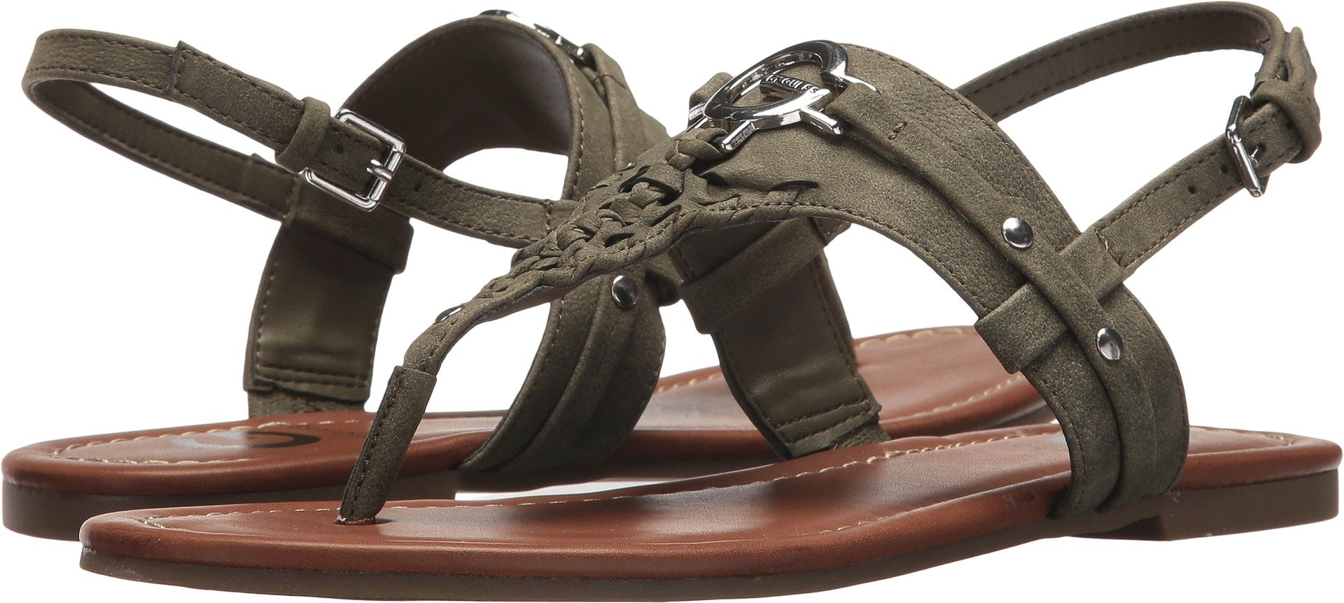 G by GUESS Women's Lemmon Olive 5 M US