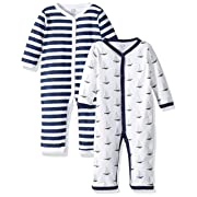 Hudson Baby Unisex Baby Cotton Coveralls and Union Suits, 0-3 Months (3M)