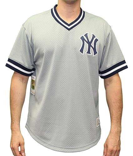 New York Yankees Mitchell   Ness MLB Men s  quot Game Winner quot  Mesh Jersey  Shirt 96debdf4fc2