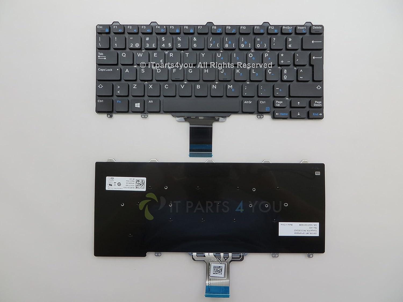 Dell Teclado original Latitude E7250 E5250 en idioma ...