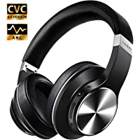 Hybrid Active Noise Cancelling Headphones, VANKYO C751 Over Ear Wireless Bluetooth Headphone with CVC 8.0 Mic, Deep Bass, Hi-Fi Sound, Comfortable Protein Earpads, 30H Playtime for Travel/Work