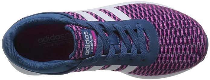 0617b0aef61e8b adidas Women s Cloudfoam Race W Sneaker Low Neck