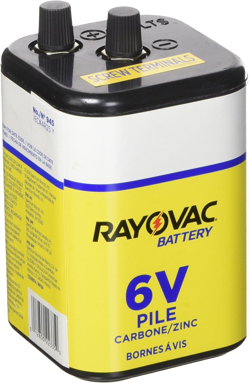Rayovac 6V Screw Lantern Battery 945R4