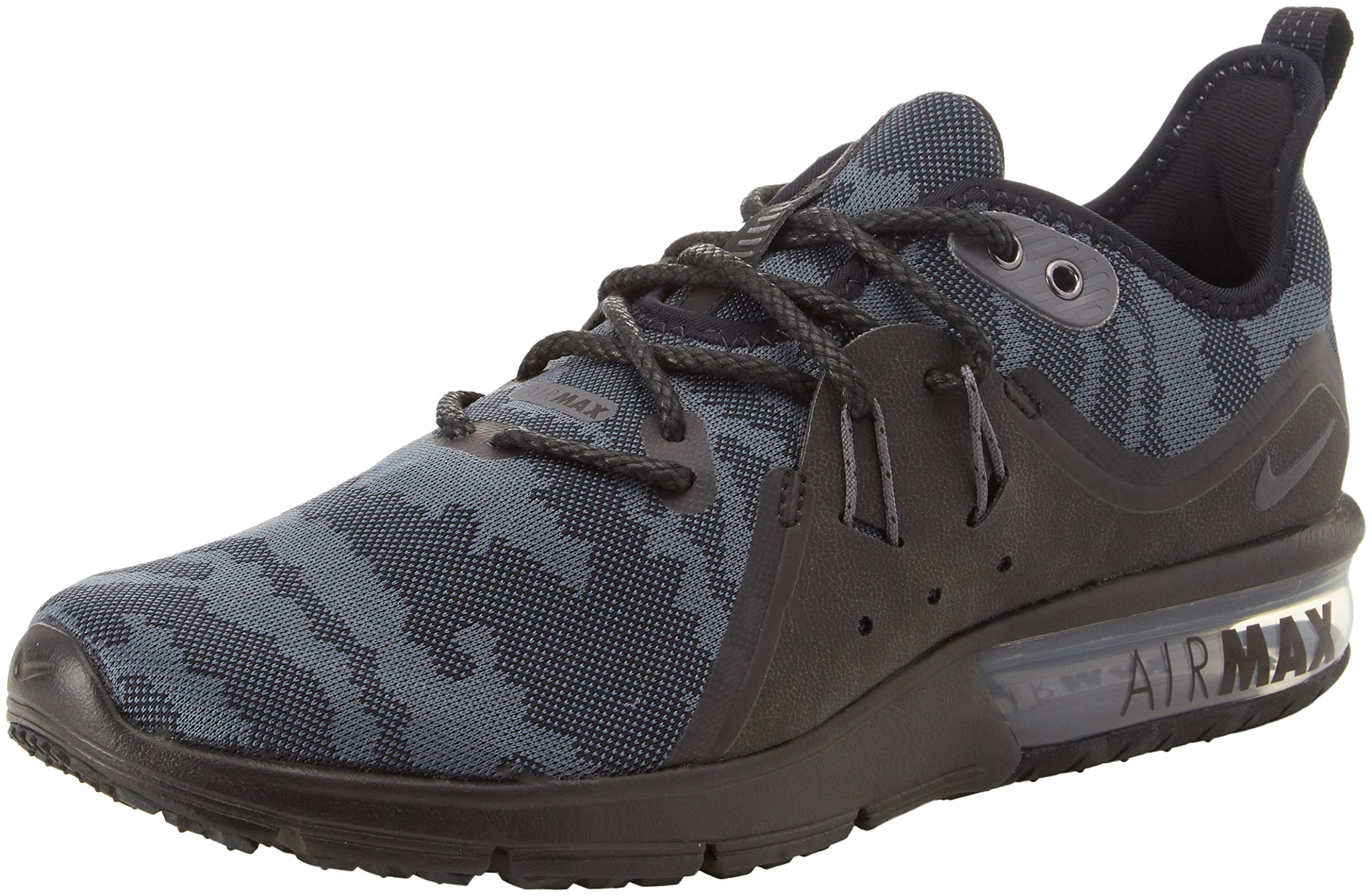 3e04273ef9 Galleon - Nike Mens Air Max Sequent 3 Premium Camo Running Shoe (10.5 D US,  Black Camo)