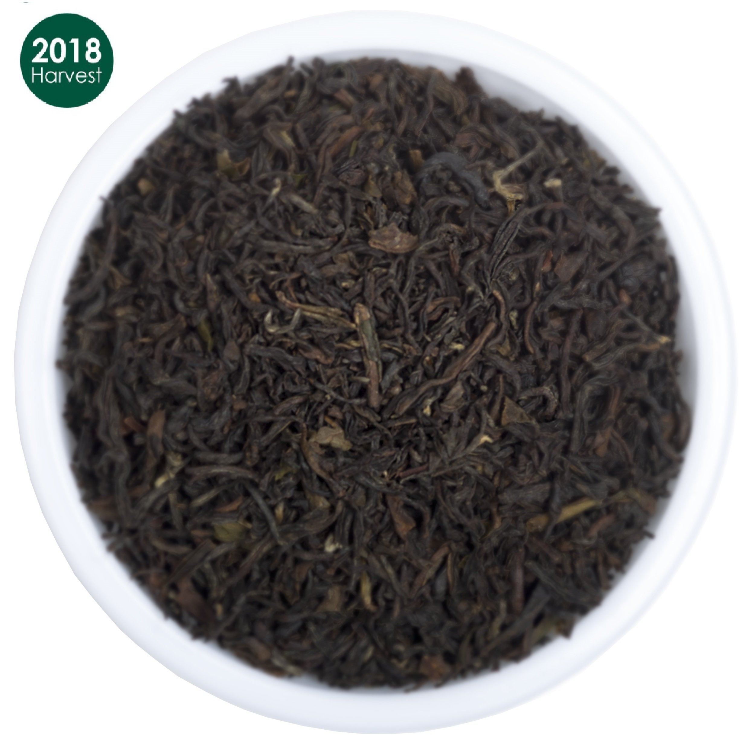 Organic Black Loose Leaf Darjeeling Tea, 2018 Prime Second Flush Tea with Powerful Antioxidants; Brews the Perfect Probiotic Kombucha- No Fillers and Gluten Free- Makes 50 Cups (3.53 ounces)