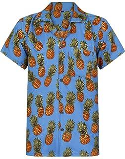 b08d2a0fa Hawaiian Shirt Pineapple Shirt Mens Aloha Hawaii Holiday Beach Stag Juice  BBQ Beer Summer Tropical Fruit