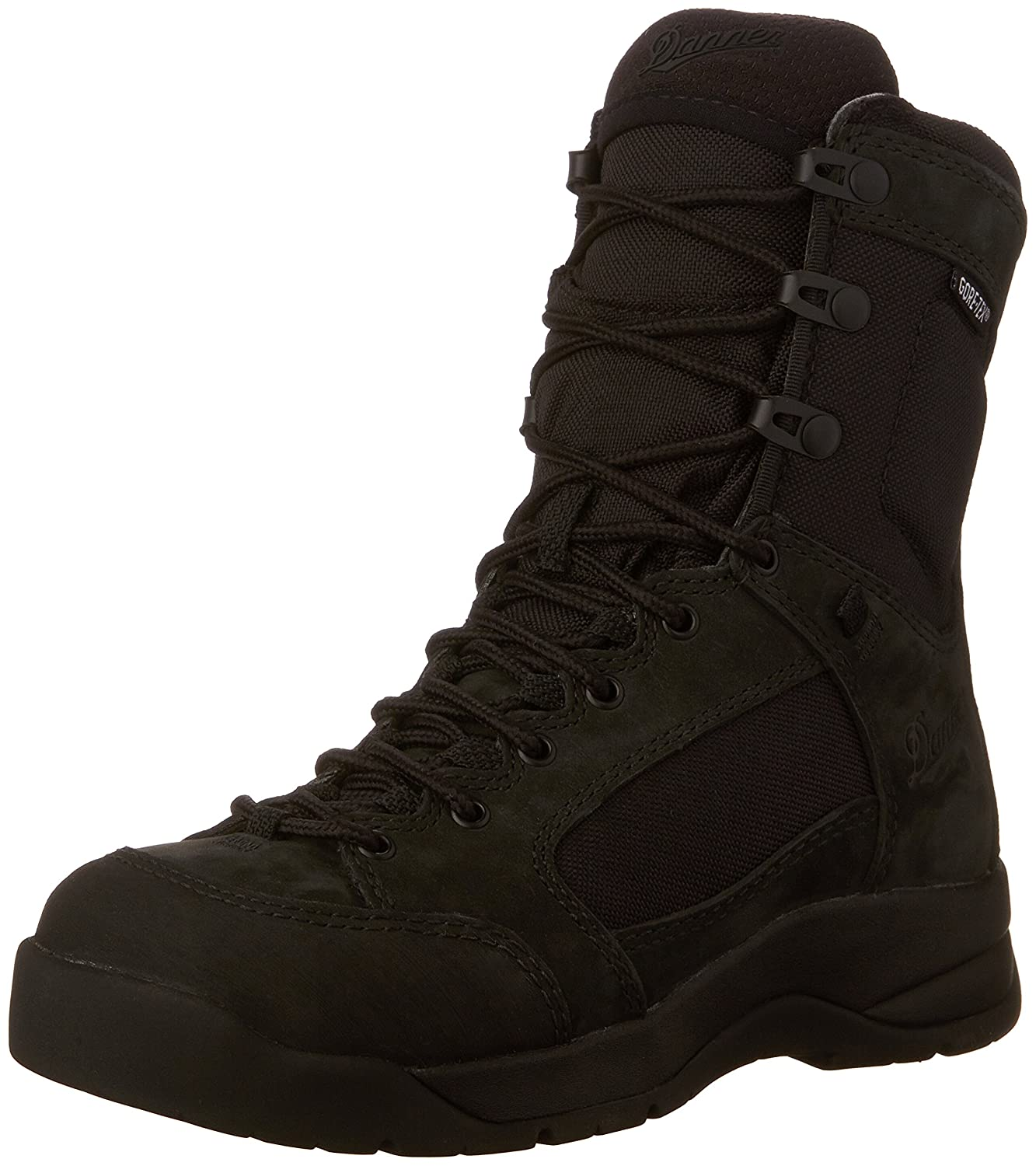 Black Danner Men's DFA 8  Black GTX15404 Uniform Boot