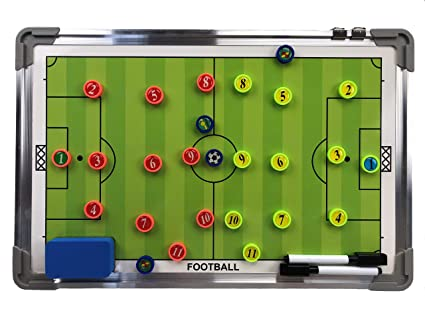 Amazon.com: Coaches Vision Soccer Coaching Marker Board ...