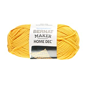 Bernat Maker Home Dec Yarn Gold