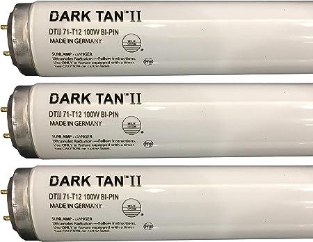 Wolff System Wolff Dark Tan II F71 T12 100W Tanning Bed Bulbs, Box of 16 Lamps