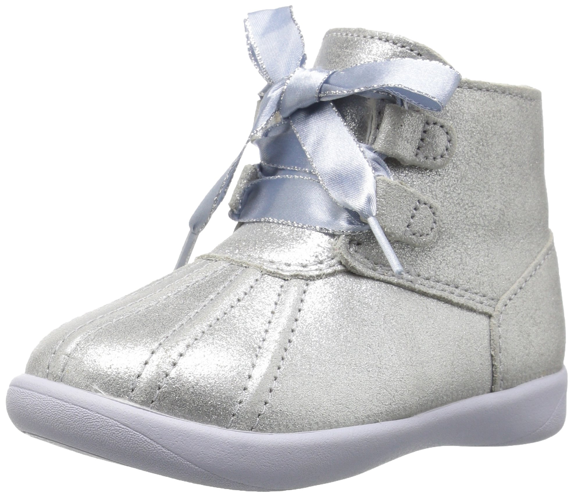 UGG Girls T Payten Metallic Boot, Silver, 11 M US Little Kid