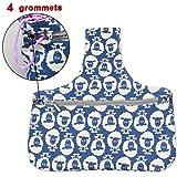 "Teamoy Knitting Tote Bag(L12.2"" x W7.5""), Travel"