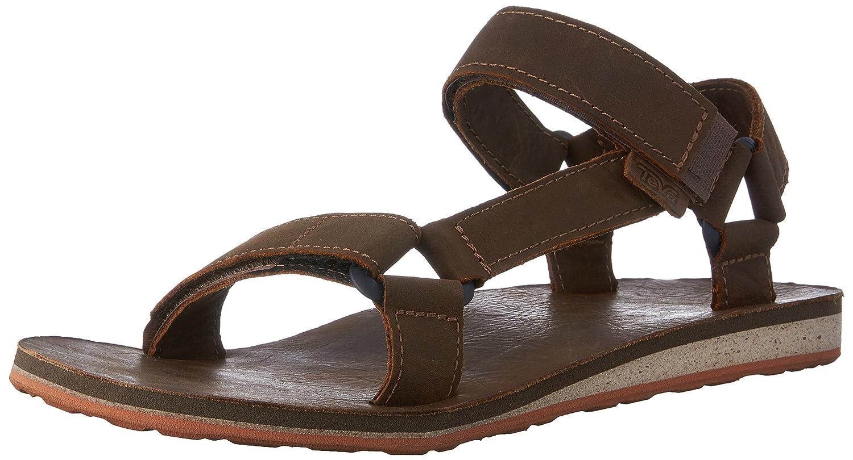 ef825b82f2df Teva Men s Original Universal Premium Leather Sports and Outdoor Lifestyle  Sandal  Amazon.co.uk  Shoes   Bags