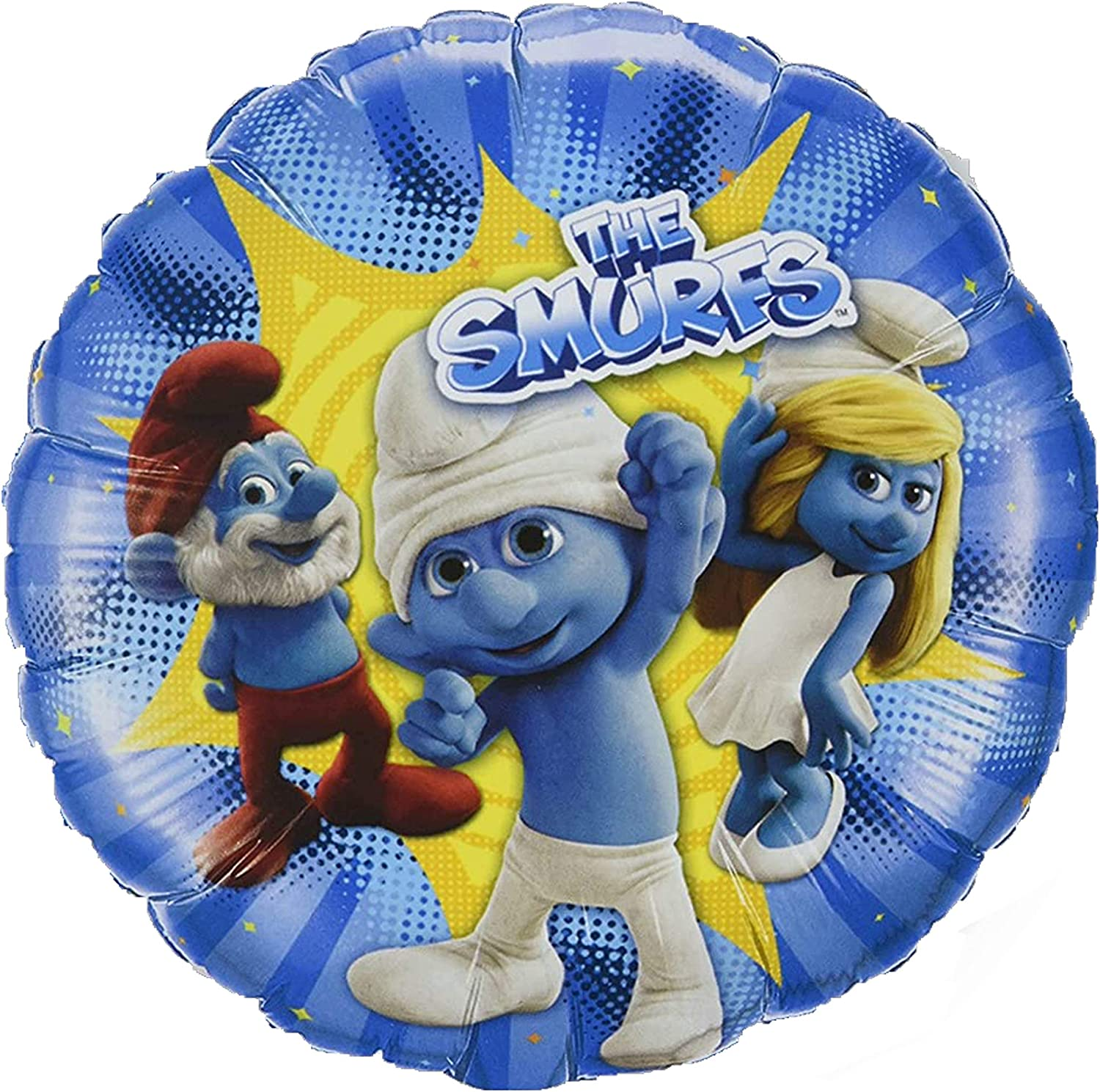 6 Balloons-Air Balloons The Smurfs Smurf Party Children Birthday