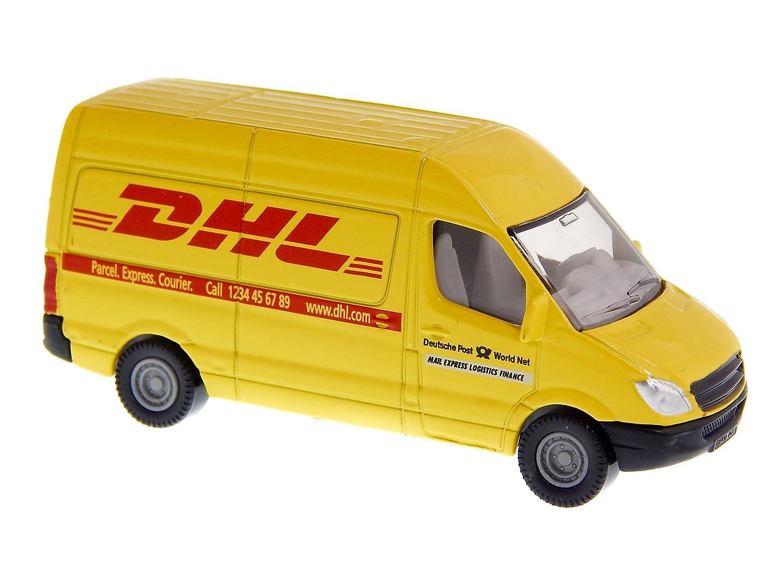 ba2d833ff5 Amazon.com  Mercedes Sprinter DHL Van 3-inch Model Car  Toys   Games