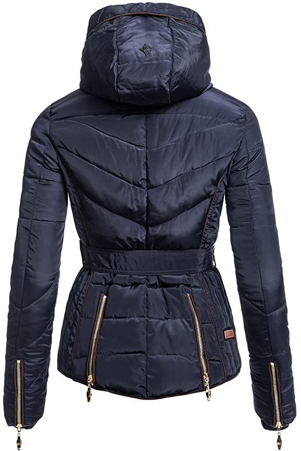 Winterjacke   Wintermantel   Stepp-Jacke für Damen Modell Flavours von  Navahoo - eleganter Kurz-Mantel im schlanken Parka-Stil mit Fellkapuze aus  Kunstpelz ... cee95e67c4