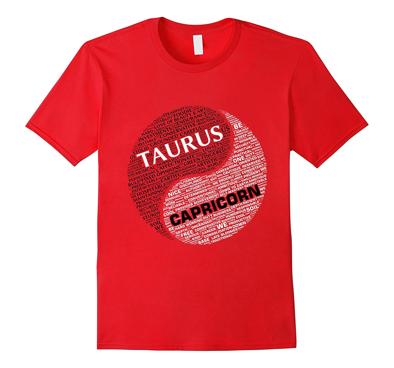 Zodiac Shirt for Taurus and Capricorn T-shirt-TD