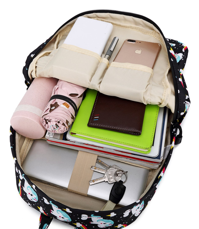 Abshoo Cute Lightweight Unicorn Backpacks Girls School Bags Kids Bookbags 9