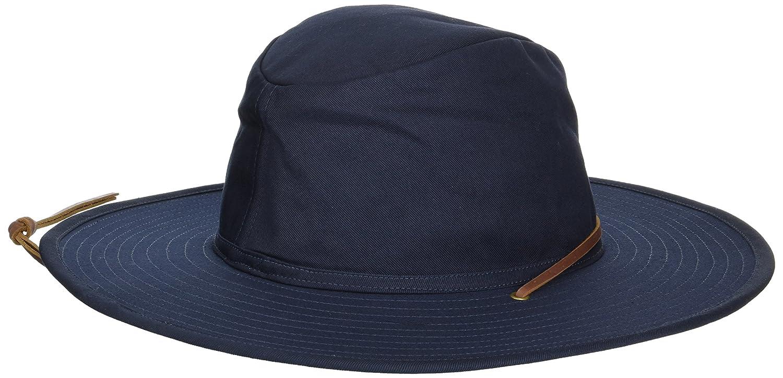 340ce2e8d Amazon.com  Brixton Men s Ranger Ii Wide Brim Cotton Fedora Hat  Clothing