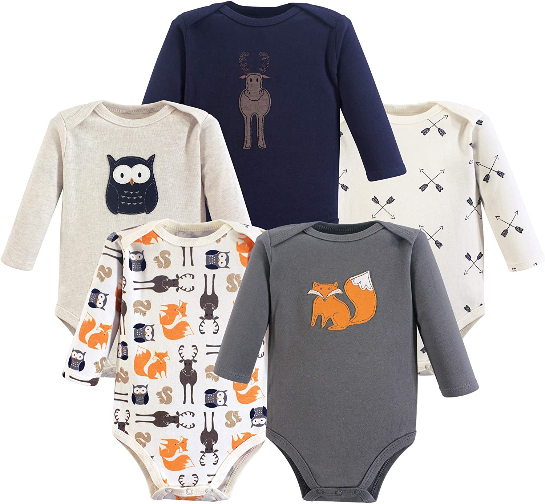 OC Baby Organic Cotton Baby Clothing Long Sleeve Bodysuit Clothes Unisex