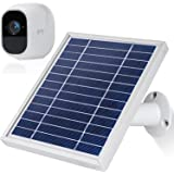 iTODOS Solar Panel Compatible with Arlo Pro 2, 11.8Ft Outdoor Power Charging Cable and Adjustable Mount,Not for Arlo…