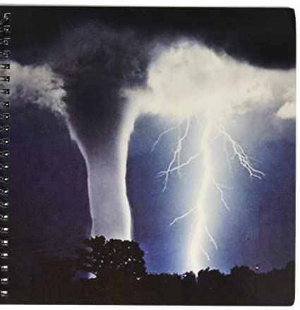 amazon com 3drose db 44853 1 tornado and lightning drawing book 8