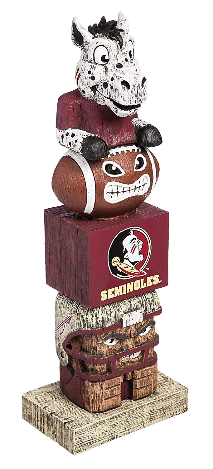 Evergreen NCAA Florida State Seminoles Tiki Totem