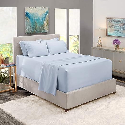Amazon.com: Nestl Extra Deep Pocket Bed Sheets – Deep Sheet Set 6