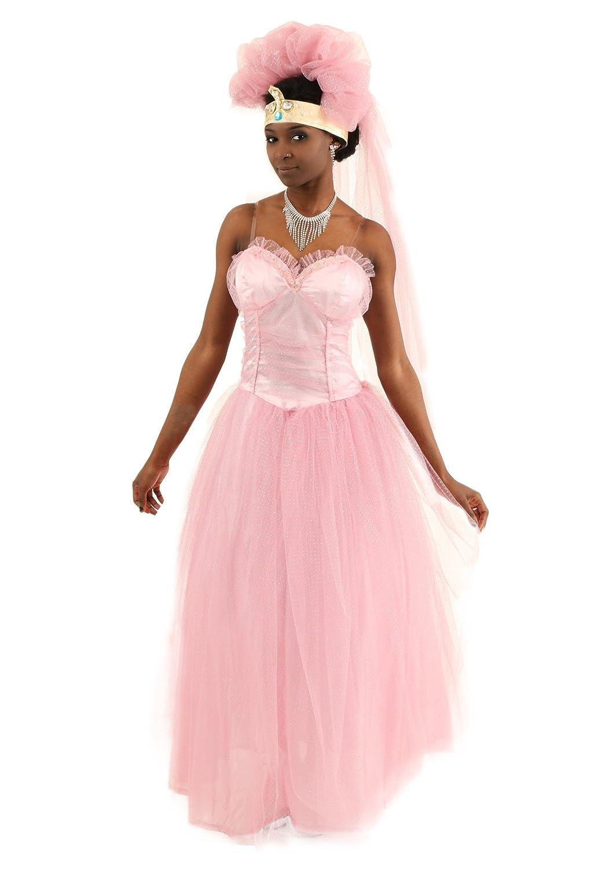 Amazon.com: FunCostumes Coming to America Wedding Dress: Clothing