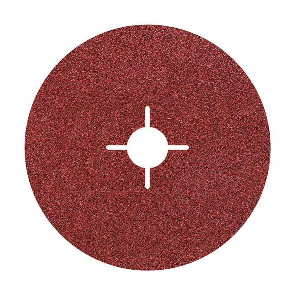 Wolfcraft 2465000–5sanding Disks for Angle Grinder Grit 100ø 115mm