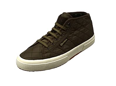 Mens 2754-Quiltenylw Hi-Top Trainers Superga 9YLVfkW10