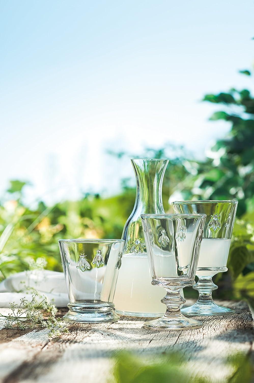 La Rochere Set Of 6, 14-ounce Napoleon Bee Double Old Fashioned Glasses 6222.01____440