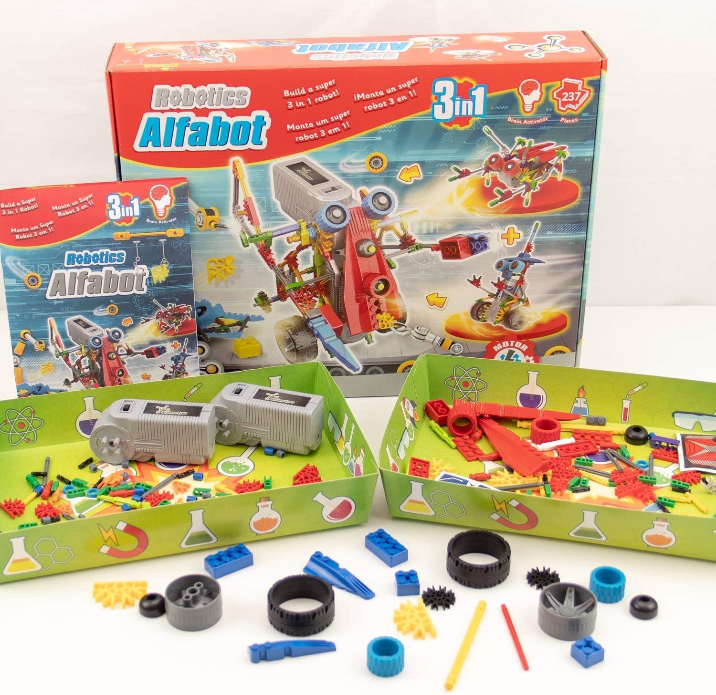 Science4you-Robotics Robotics Alfabot 3 En 1-Juguete Científico Y ...