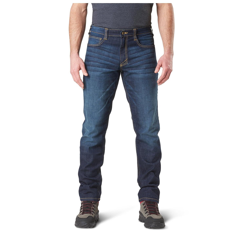 ce3ee3b6 Amazon.com: 5.11 Mens Defender-Flex Jean Slim Fit Tactical Pant, Sytle  74465: Sports & Outdoors