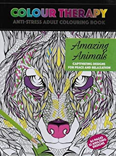 Color Therapy An Anti Stress Coloring Book Amazoncouk Cindy